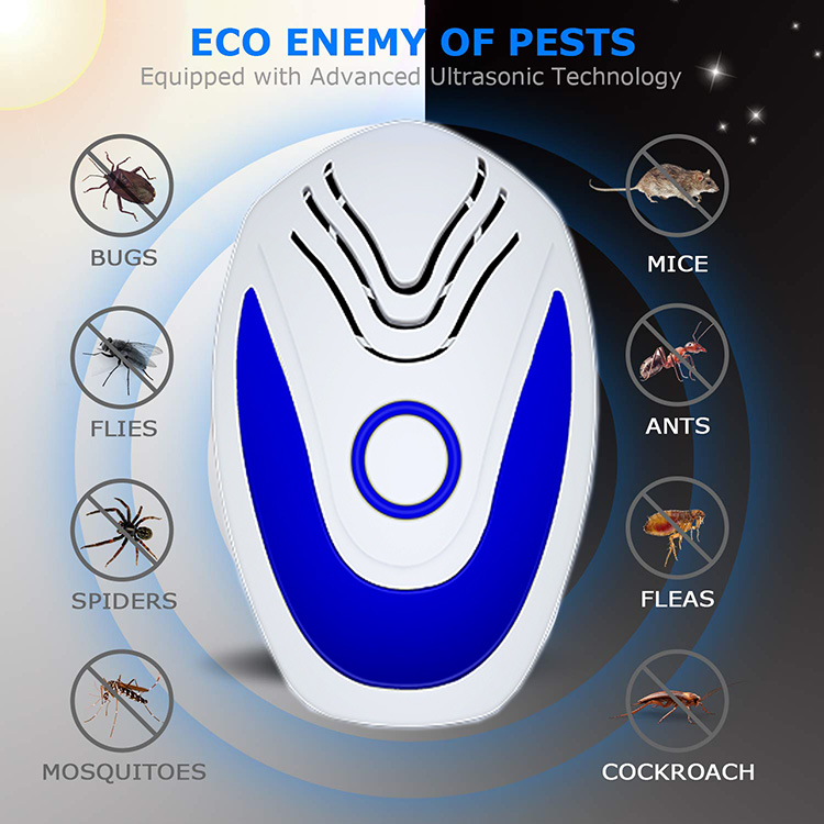 Summer Amazon Top Seller 2020 New Products Home Garden Accessories Ultrasonic Pest Repeller Baby Safe Mosquito Insect Control