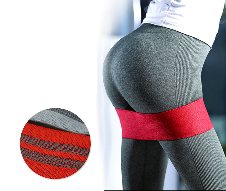 Estoque pronto 20 Cores Booty Banda Hip Círculo Loop Resistance Band Workout Exercício Glúteo Butt Estilingue Hip Círculo de Fitness