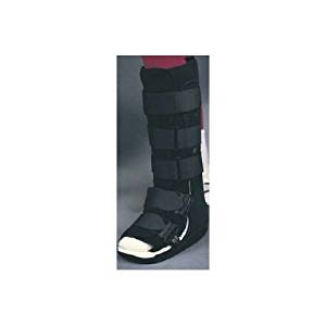 Alimed Ankle Walker Boot Anklizer Medium Hook and Loop Closure Size 7-1/2 - 10-1/2 Male, Size 8-1/2 - 11-1/2 Female