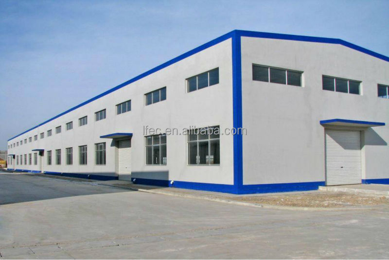 Low Cost Lightweight Construction Materials for Steel Structure Building