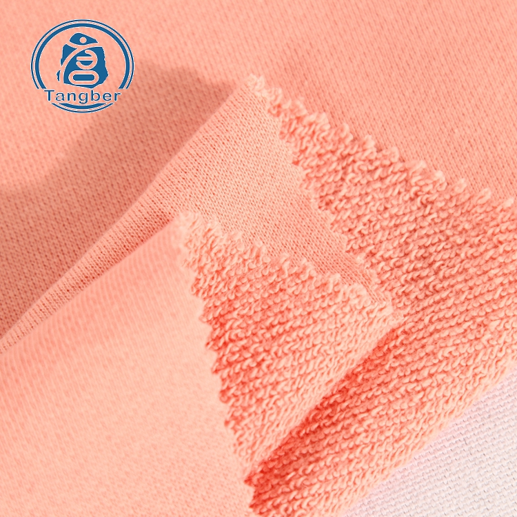 Manufactory. we (high) 저 (질 knit 320gsm 100% 면 french terry 천 fabric