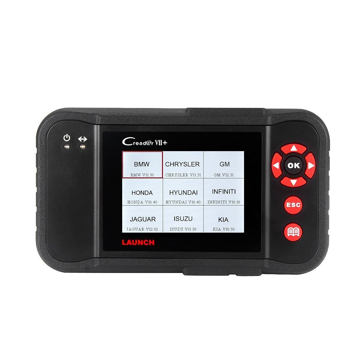 Launch X431 Creader VII+ (CRP123) Auto Code Reader EOBD, OBD2 Scanner Scan Tool Testing Engine/Transmission/ABS/Airbag System Update via PC