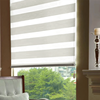 Low price good quality printed style simple curtain design primative home decor popular zebra blind with after service