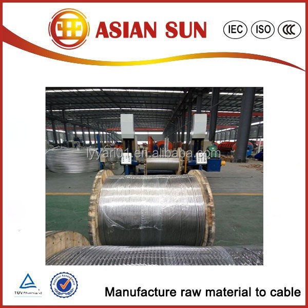 Asian Sun Bare Overhead AAAC Conductor/ AAC aluminum electric wire cable for new price