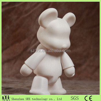 White Color Bear Action Figure Manufacturer,Diy Paint Action ...