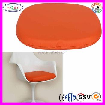 E778 Tulip Arm Chair Replacement Cushion Orange High Density Foam
