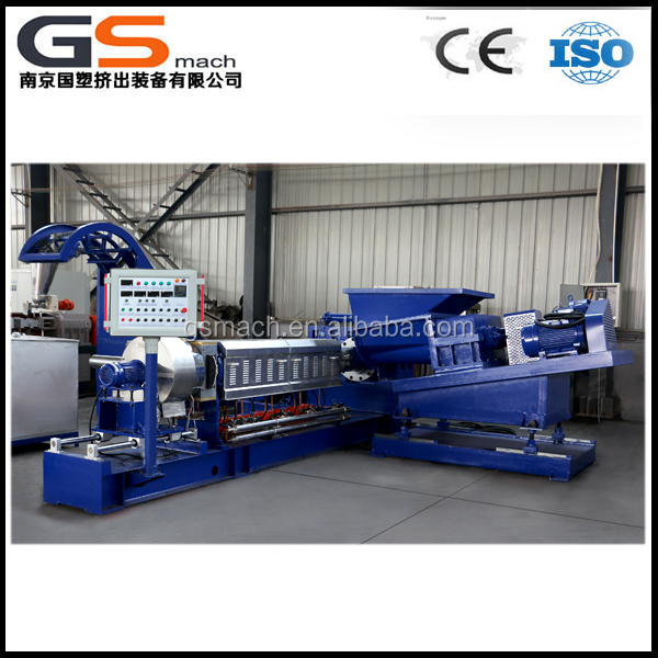 Plastic carbon black granulating machine