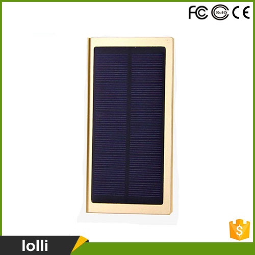 2017 Best selling 10000mah solar cell power bank
