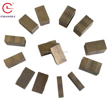 China supplier sandwich diamond segment for granite cutting mining tools