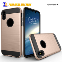 for iphone x Armor case 2017 New Arrival Shockproof Slim Cover PC + TPU Phone Case For apple iPhone X 8 8 plus 7 plus