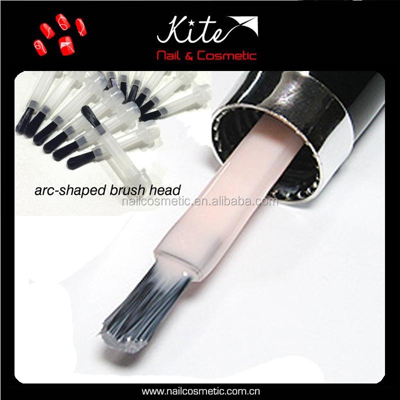 Arc Shaped Nail Polish Brush With Size Details /bulk Plastic Nail ...