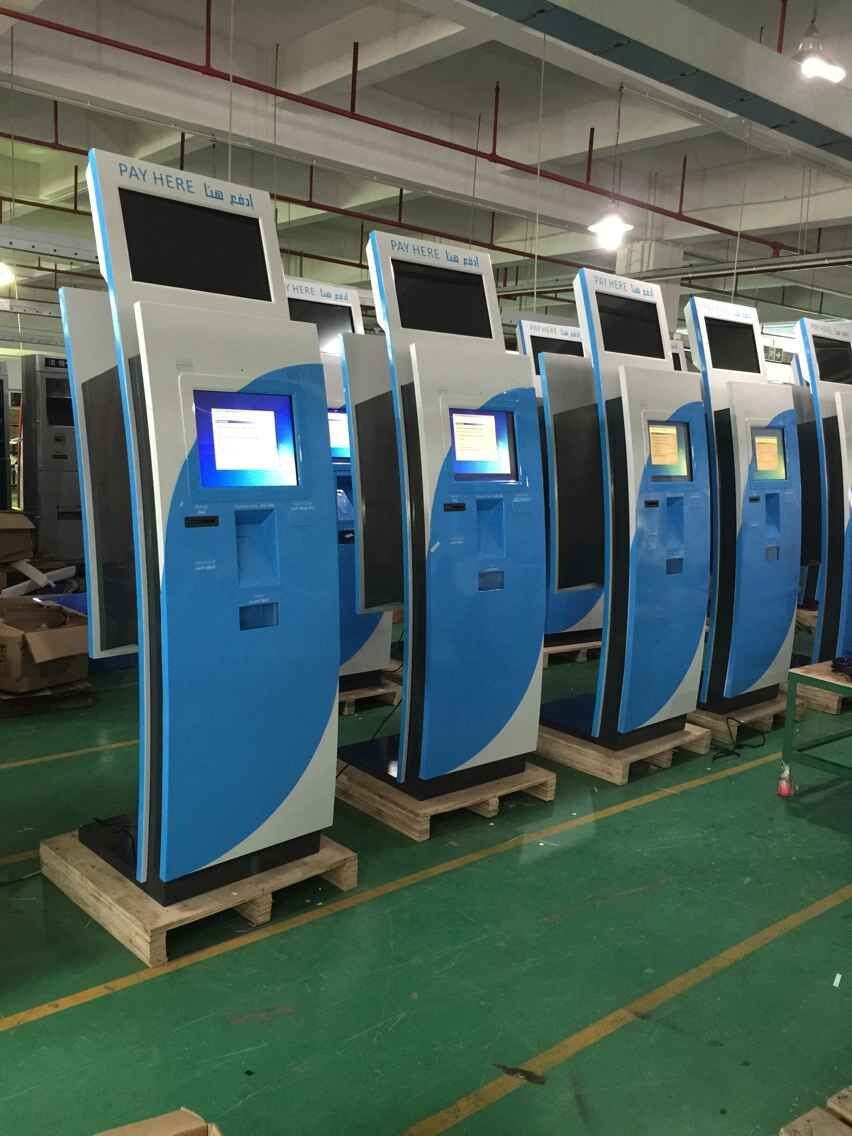 parking payment kiosk, wall mounted touch screen kiosk, automatic payment terminal