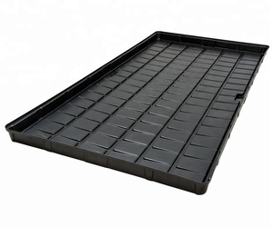 Produce Black Large Plastic Tray
