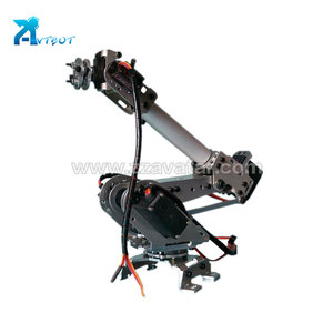 Best price mini 6 axis aluminum alloy educational robotic arm for sale