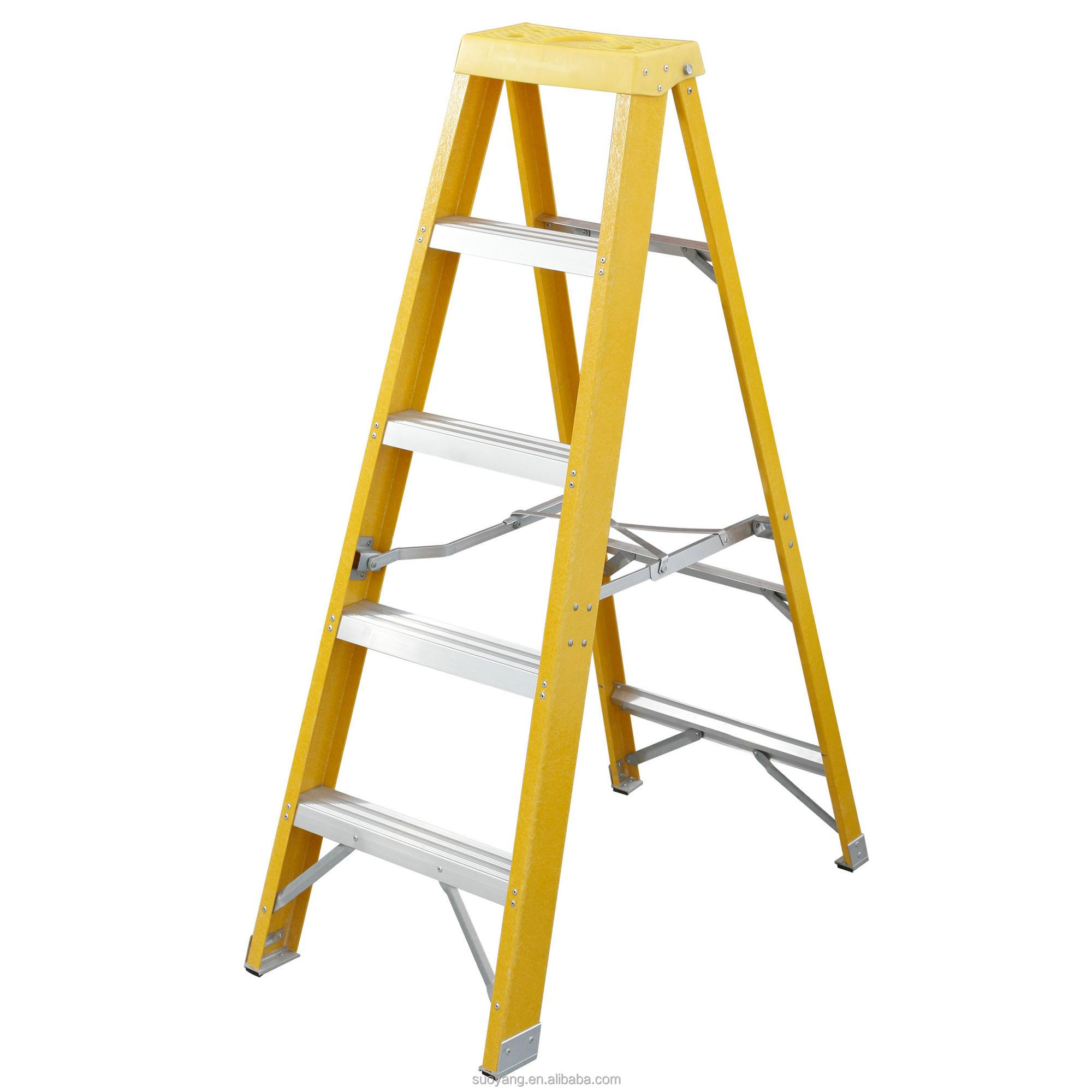 Soyoung Fiberglass Step Ladder Folding Insulation A shape Ladder