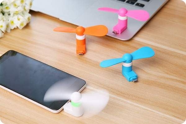 Mini Usb Fan for iphone and android