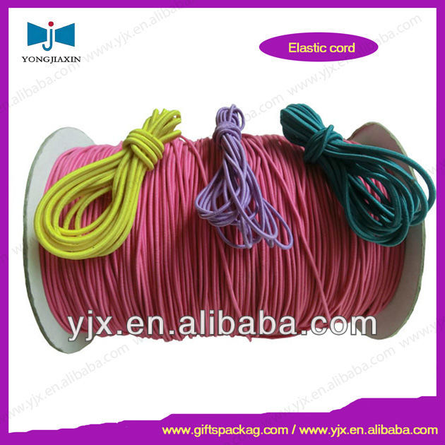 Wholesales Elastic Drawstring Cord With Imported Rubber for Chair