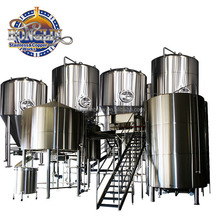 100 L 200 L 300 L 500 L 1000 L Per Batch SUS304 Large Beer Brewery Equipment / Fermentation System