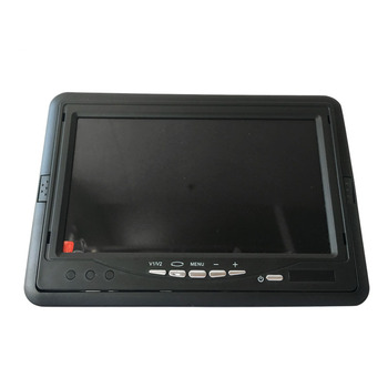 vehicle 24v 800X480 resolution widescreen tft lcd color 7 inch cctv car monitor