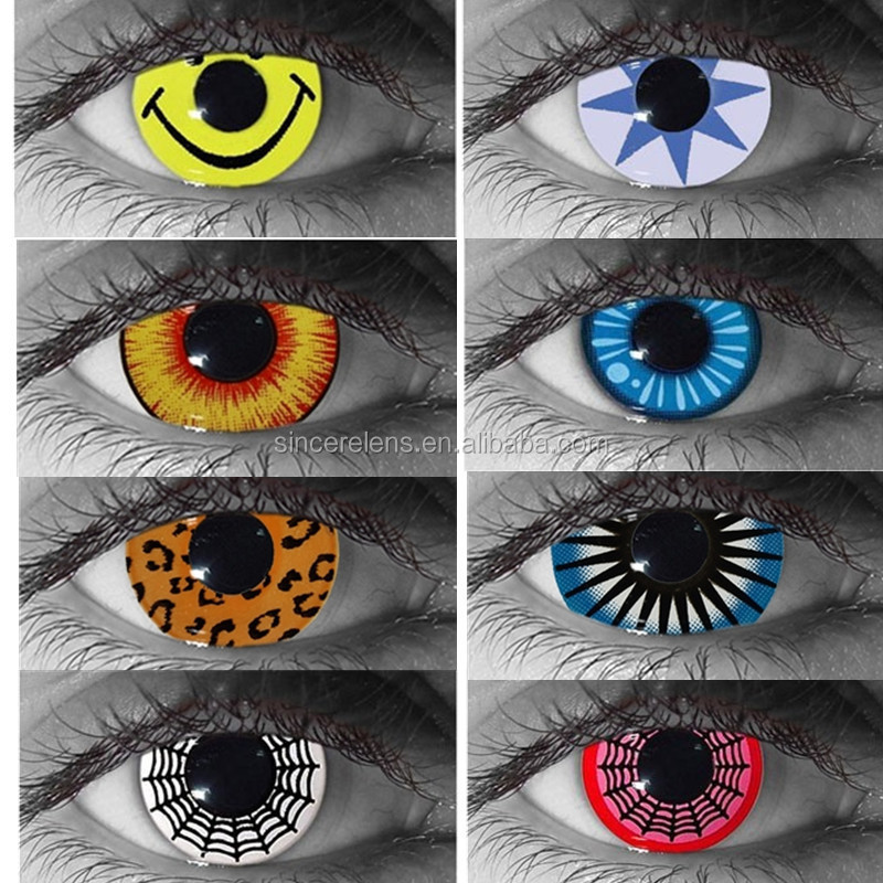 Crazy Halloween Contacts zombie contact lenses halloween contact lenses cat eye contact lenses buy cat eye contact lenshalloween contact lenszombie contact lens product on Yearly Magic Color Crazy Eyes Contact Lens Wholesale Halloween Contacts