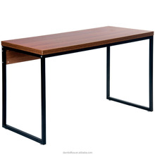 American maket simple computer table U shape foot in Guangzhou manufacture