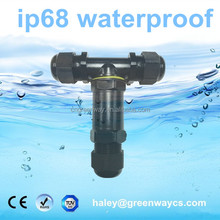 New arrival TUV 5 pin t type waterproof connector