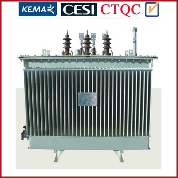 Distribution Transformer 400kVA 3 Phase Oil Immersed Toroidal 2 Winding Type Electrical Distribution Transformer