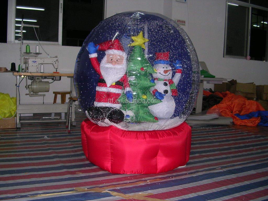 Inflatable  Christmas Snow Ball