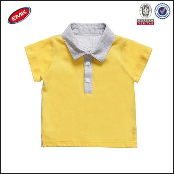 New Design Color Combination Baby Boy Polo T Shirt Buy Color