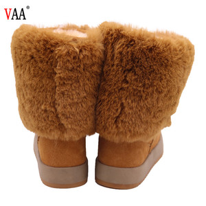the cheapest price the best quality snow women Boots winter ladies half snow boots