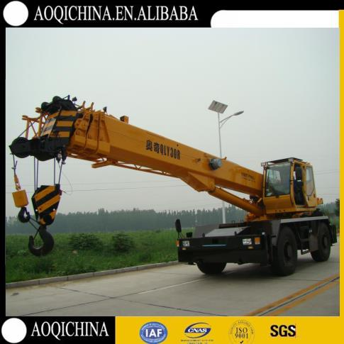 China Cheapest Rough Terrain Crane, 30Ton Rough Terrain Crane QRY30, Factory Directly Supply RT Crane For Sale