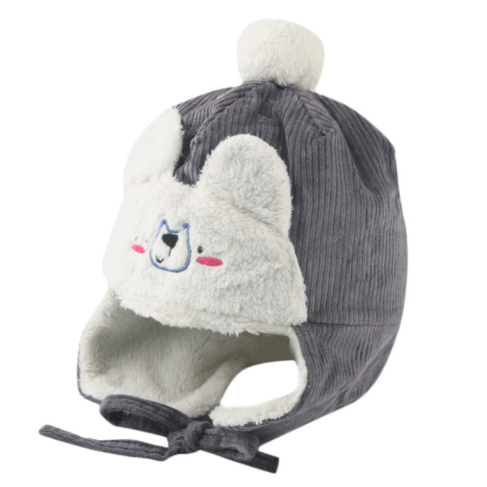 bb616e321de Get Quotations · Inkach Baby Earflap Hats
