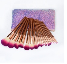 Creat your own brand best 잘 팔리는 화장품 products natural hair 어필하는 큐빅 메이 컵 brush set