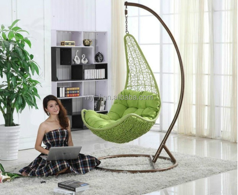 Merveilleux Outdoor Rattan Balcony Swing Hanging Chair   Buy Indoor Swing Chair,Outdoor  Swing Egg Chair,Outdoor Single Swing Chair Product On Alibaba.com
