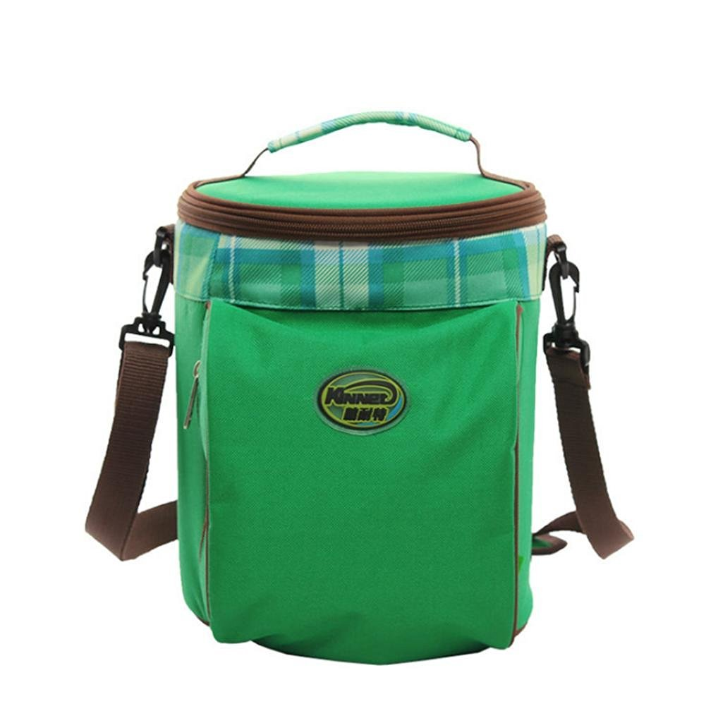 3b721f83f02 Get Quotations · Oxford cloth heat preservation bag padded waterproof  outdoor drum slung cooler bag lunch bags fresh ice