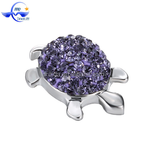 Jewelry Supplies Charm Alloy Nickel Free Animal Shaped Snap Button Jewelry