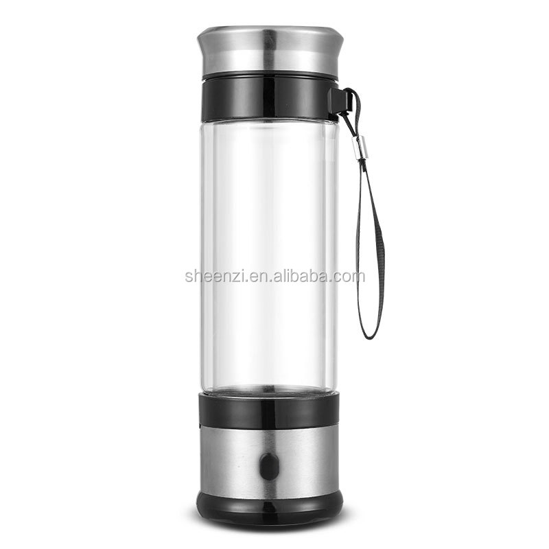 350ml hydrogen rich water bottle hydrogen generator for Portable ionizer hydrogen water generator/maker