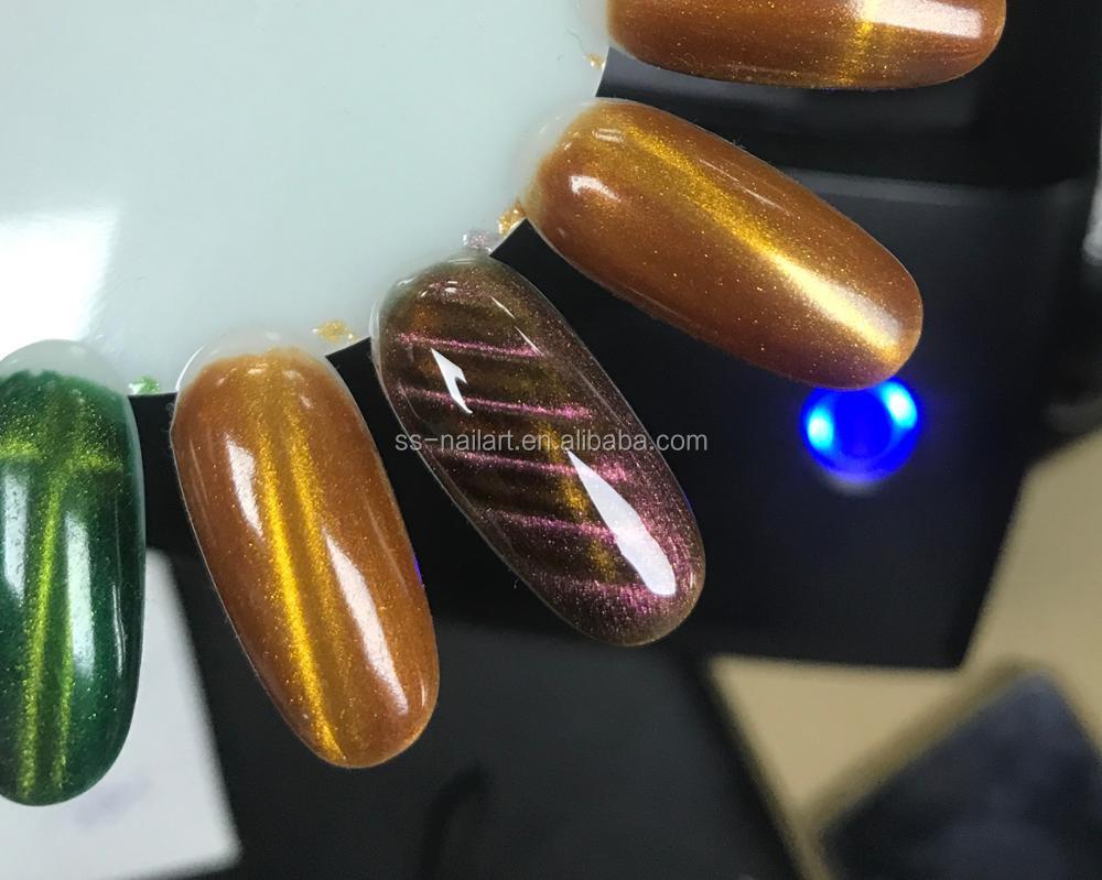 Imán Utilizado Para Empapa Tres Paso Esmalte De Uñas Magnético Gel ...