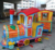 Amusement electric kids track train set