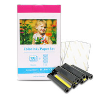 xiwing best quality compatible ink cartridge for kp-108in for canon selphy printer