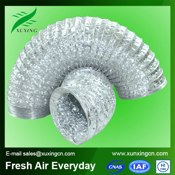 Hvac flexible duct exhaust kitchen ducting air conditioning plastic ducts