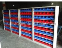full range size Multi Functional Organiser System.Plastic Wall Mounted Storage Bins Rack Board Bin