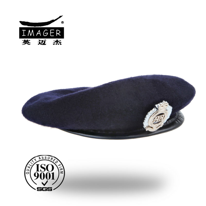 All Sizes NAVY BLUE Uniform Military Army Cap Hat New 100/% Wool BRITISH BERET