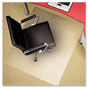 """Deflect-O - Polycarbonate Chair Mat 46W X 60L Clear """"Product Category: Office Furniture/Chair Accessories"""""""