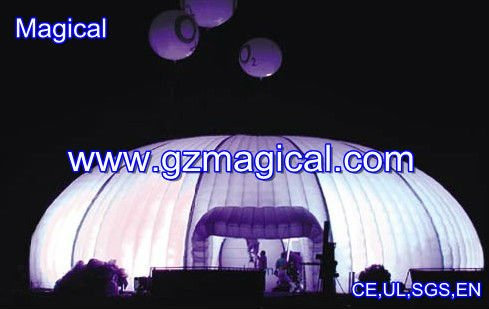 commercial active marquee dome/ event dome tent/ inflatable dome price
