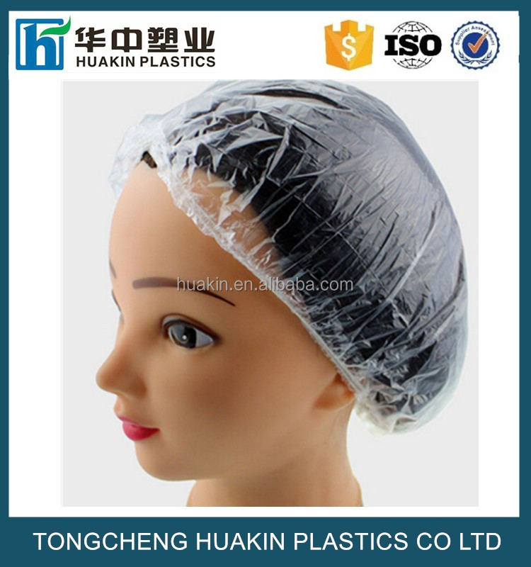 disposable shower caps bouffant bathing caps hotel hair waterproof shower cap