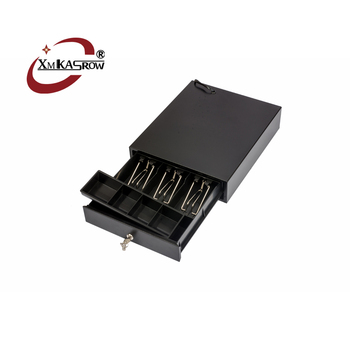 Mini Ker 300 Metal Cash Box 6v Small Cash Drawer For Romania Turkey