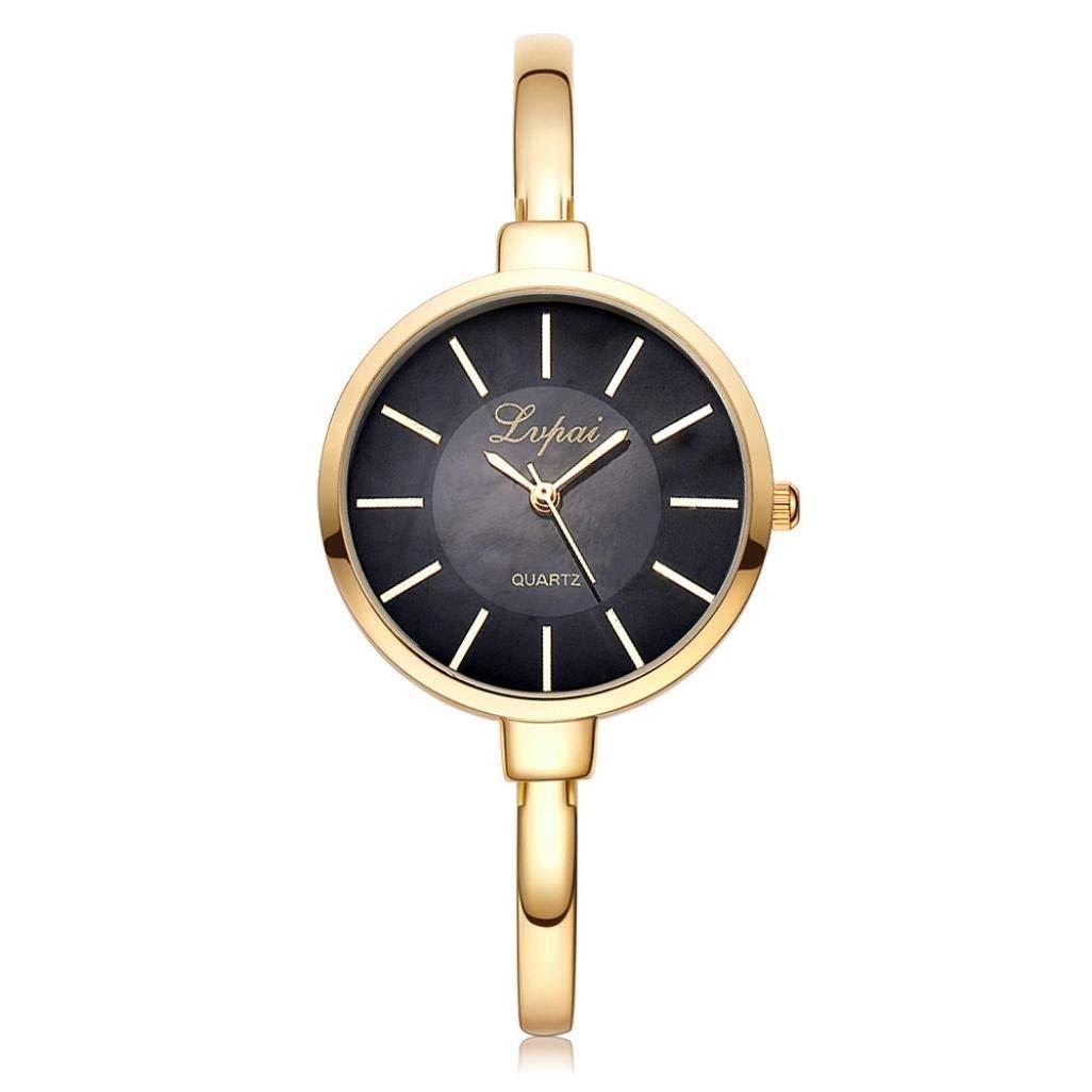 WM & MW Luxury Women Watch, Hot Sale Stainless Steel Bracelet Quartz Analog Wrist Watch Fashion Casual Watches