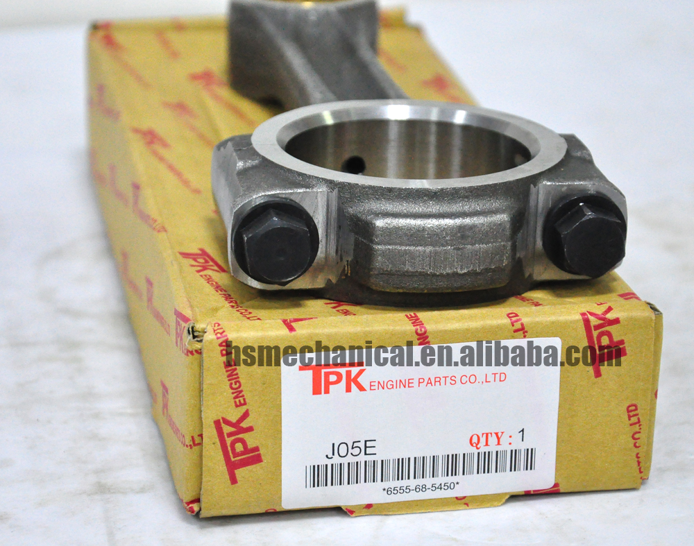 Hino Excavator Engine Connecting Rod Assy For Hino J05e