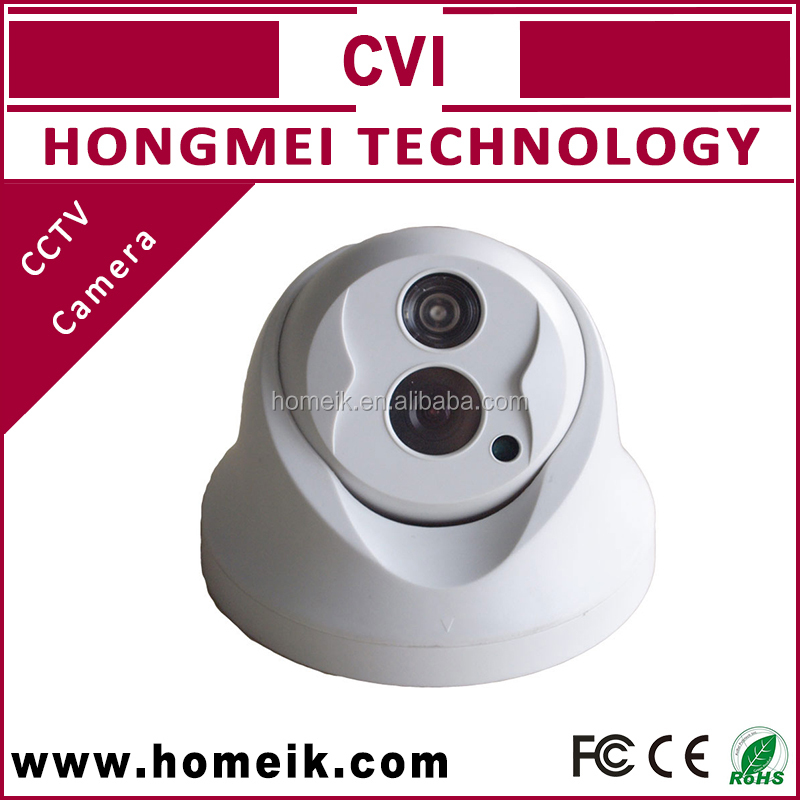 1MP Vandal proof IR HD CVI Dome CMOS Sensor CCTV Camera